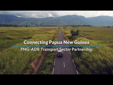 Connecting Papua New Guinea through Reliable Transport Networks