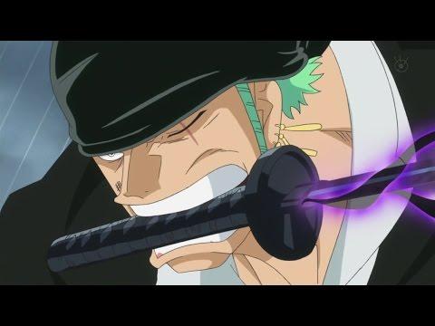 One Piece Dressrosa 719 momento epico Zoro usa l'ambizzione del armatura contro Pica SUB ITA
