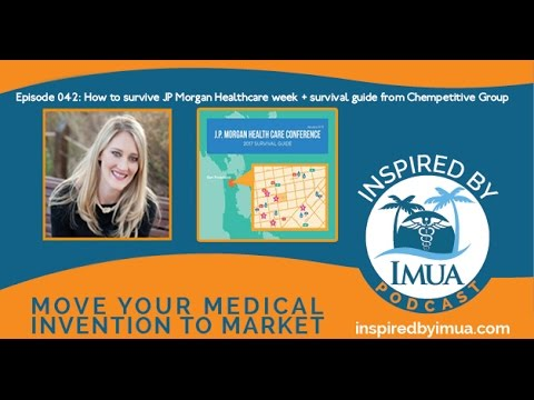042   How to survive JP Morgan Healthcare week + survival guide from Chempetitive Group