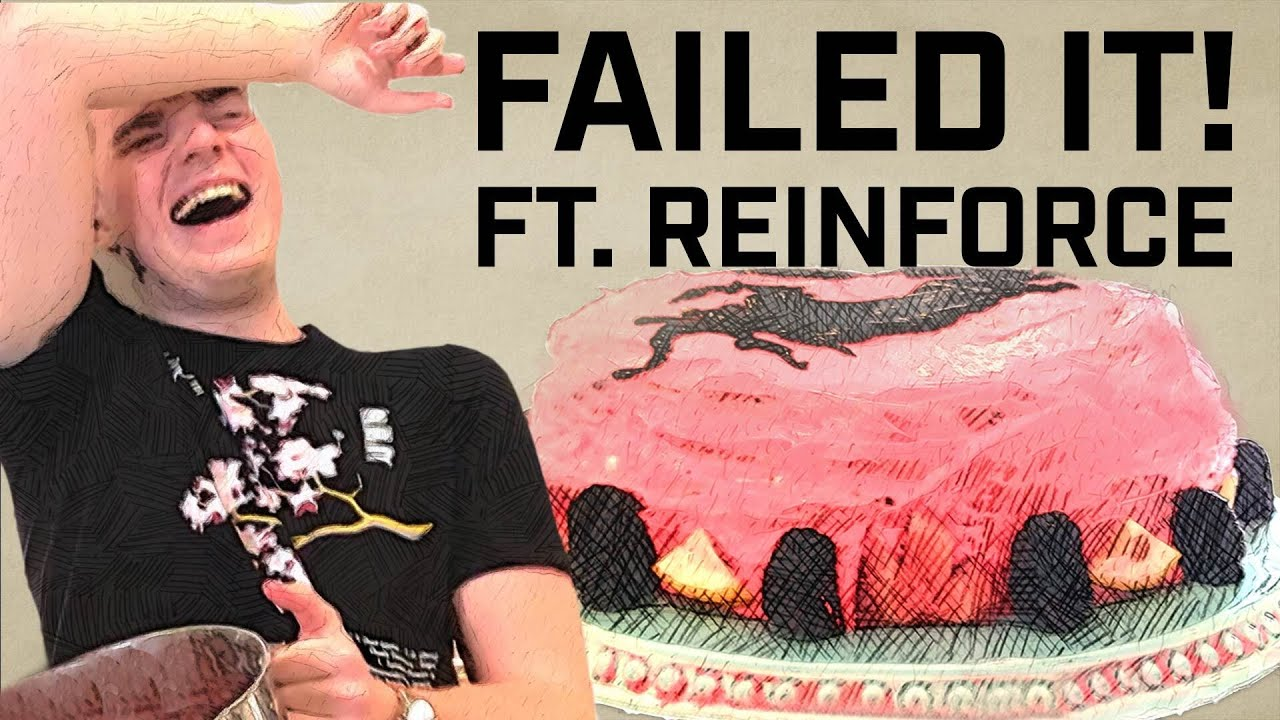 FAILED IT! — Reinforce Attempts to Bake a Cake... | The Great Overwatch League Feed Off Pt. 2