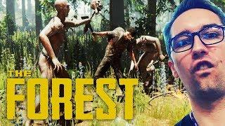 ⚡BIJE NAGICH MĘŻCZYZN Z KOLEGĄ!⚡THE FOREST /With: HUNTER