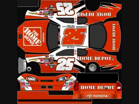 Joey Logano Pro Cup series template - YouTube
