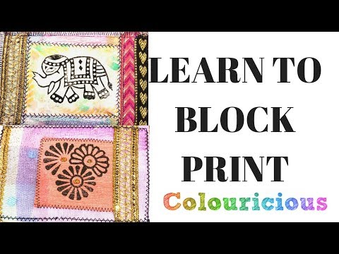 Learn to Block Print
