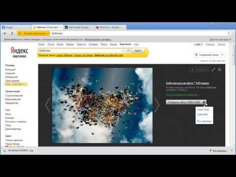 Видеокурс «Картинки и фото для создания видео», урок 2 «Поиск картинок и фото с помощью Яндекса»