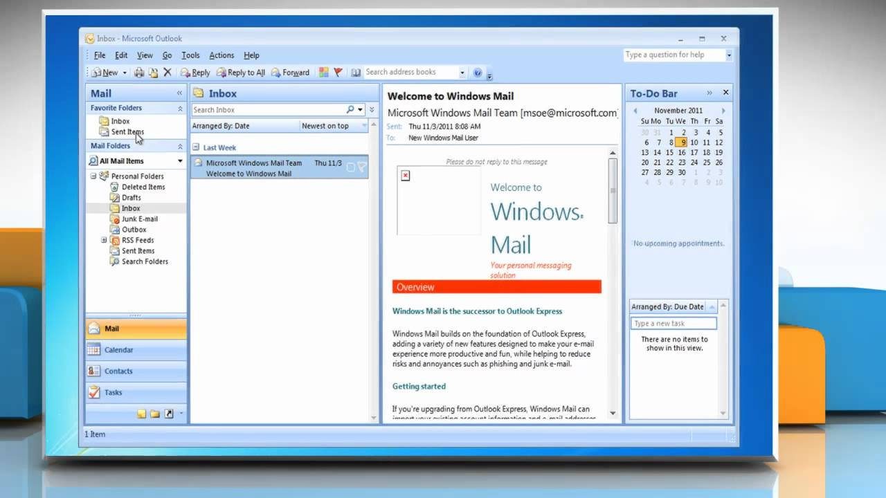 Microsoft® Outlook 2007: How to set as the default e-mail client on Windows® 7? - YouTube