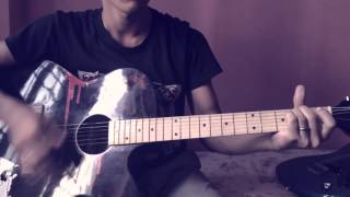 Raat Vari - Guitar lesson for beginner by Pratik Pandey
