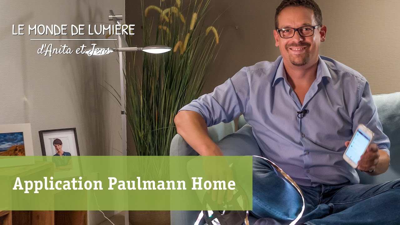smarthome commande d 39 clairage par application youtube. Black Bedroom Furniture Sets. Home Design Ideas