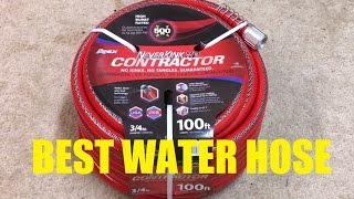 Neverkink XP Contractor Hose Review: BEST WATER HOSE!
