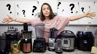 My Kitchen Appliances // Which ones are WORTH it?!