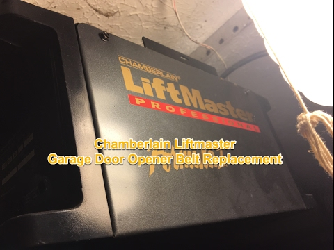 Chamberlain Garage Door Opener Belt Replacement 1280r Liftmaster