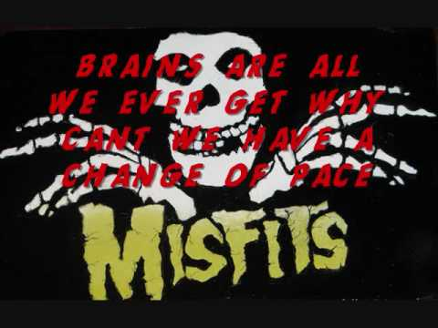 Misfits lyrics: Braineaters