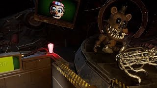Five Nights at Freddy's VR: Help Wanted Curse of Dreadbear Official Gameplay (FNAF VR)