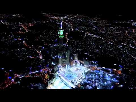 Hd Mecca Royal Tower 2011 Biggest Clock Tower Atmospheric Filming Youtube