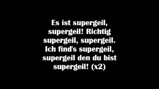 EDEKA - Supergeil (feat. Friedrich Liechtenstein) (Lyrics)