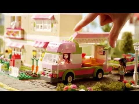 2012 Lego Friends Camper Youtube