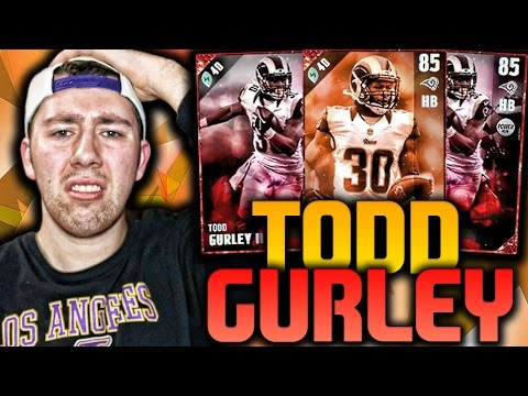 BEST RB IN MUT? TODD GURLEY!!! | MADDEN 17 ULTIMATE TEAM