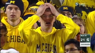 Every Michigan Football Loss Since 2015 (Jim Harbaugh Era)