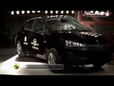 Opel Astra - 2015 - Crash Test Euro NCAP