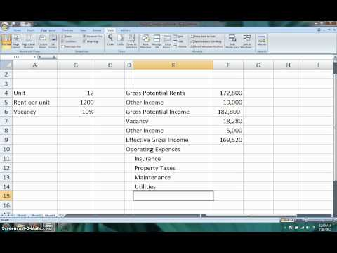 How to Calculate the Net Operating Income (NOI) & Cap Rate f