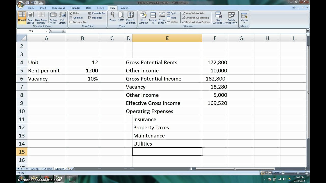 How to Calculate the Net Operating Income (NOI) & Cap Rate for ...