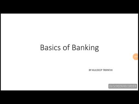 Basics of banking all about monetary policy