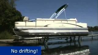 SEA-LEGS On-Board Pontoon Boat Lift System