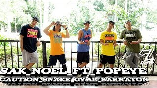 Sak Noel Ft. Popeye Caution | Snake Gyal (BARNATON) Dance Fitness | Cover By Zhorse