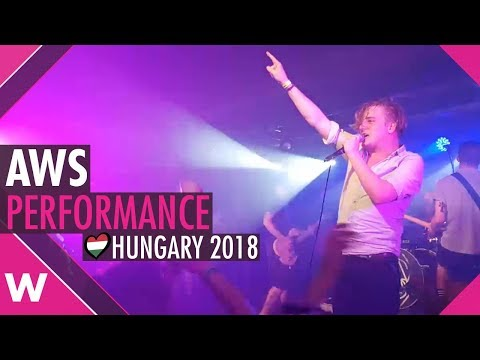 AWS (Hungary 2018) LIVE @ Eurovision farewell event