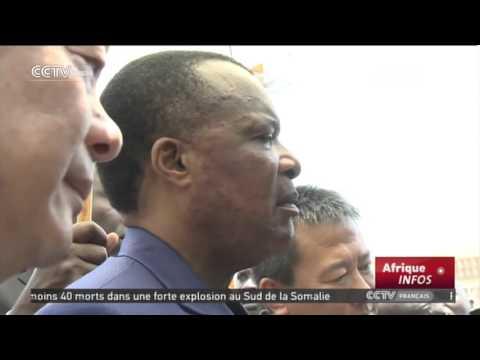 CCTV Afrique Infos 13h 02/29/2016,présenté par:Liang Jiajun