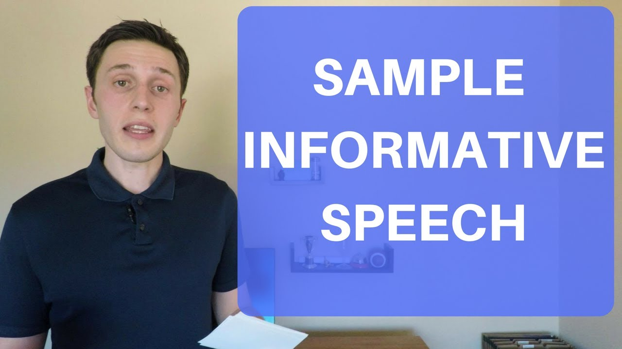 Informative Speech Example For College Students