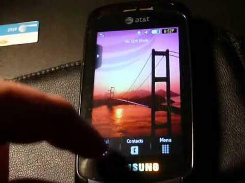 How to reset a Samsung Impression