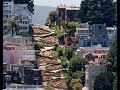 Lombard Street on a bicycle - San Francisco