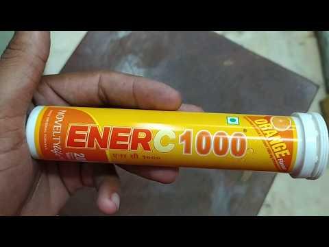 Enerc 1000 Tablet Ke Use Or Side Effect Review In Hindi || Vitamin C 1000 Tablet Review In Hindi