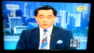 TV3 (Malaysia) News Opening 1987 (with Patrick Teoh)