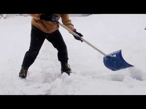hqdefault - How To Get Rid Of Packed Snow On Driveway