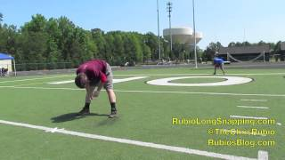 Rubio Long Snapping, Austin Mitchell, 4-12