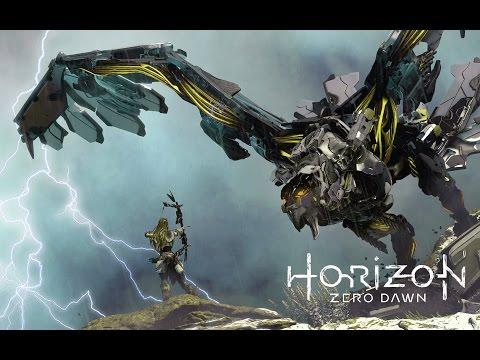 Трейлер к игре Horizon Zero Dawn Мир роботов