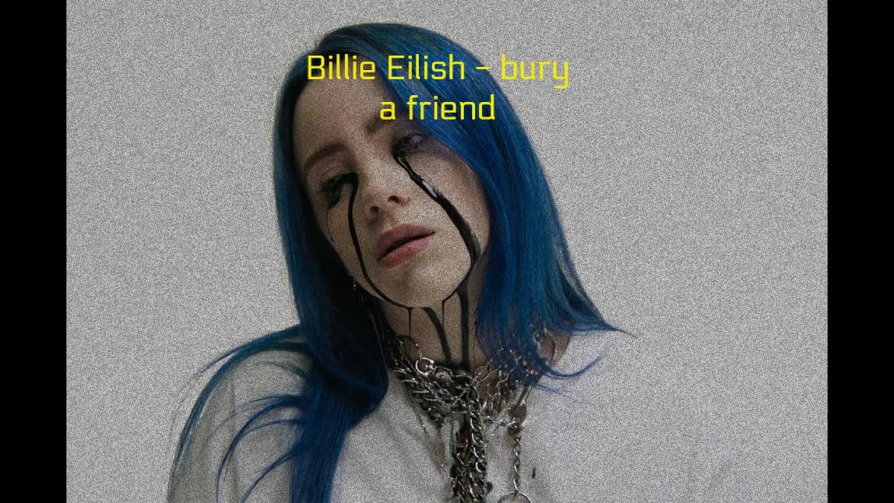 Download Billie Eilish - bury a friend | Reversed