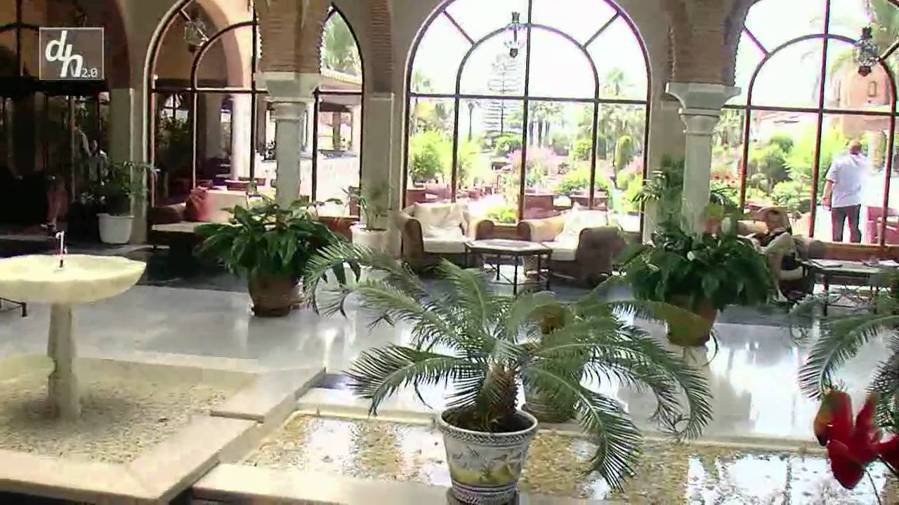 Hotel barcel isla canela youtube for Jardines isla canela