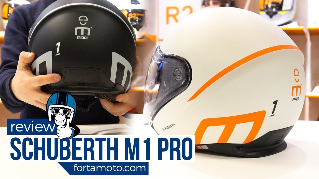 5d44019e Schuberth M1 PRO motorcycle helmet review | FortaMoto.com - YouTube