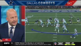 "Tim Hasselbeck ""talk analysis"": Cowboys def. Eagles 37-10; Elliott 22rusg, 111 Yds, TD 