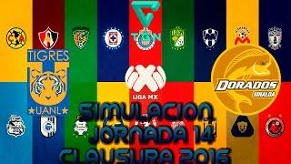 Tigres VS Dorados   Simulacion/Gameplay   Jornada 14   Clausura 2016   Liga Mx   FIFA 16