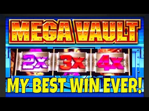 I GOT A HUGE WIN ON MEGA VAULT ON MY VERY FIRST SPIN ✦✦ LOTS MORE SLOT MACHINE WINS!