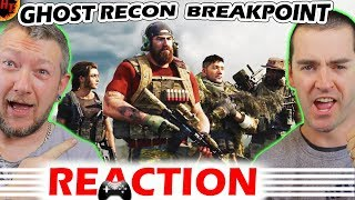Ghost Recon ''BREAKPOINT'' Announcment Trailer REACTION