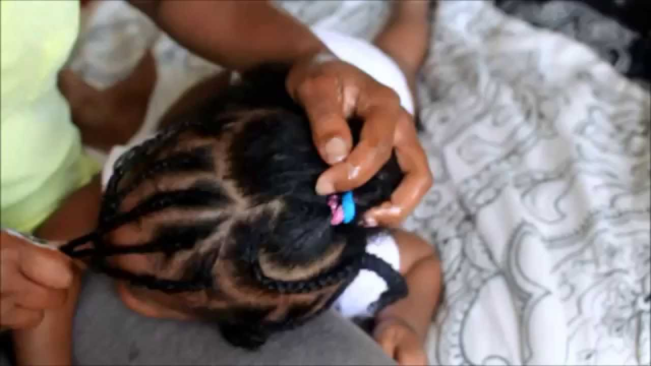 Baby Heart Shaped Braided Hairstyle Beginner Friendly YouTube