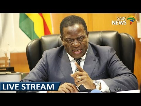 Mnangagwa addresses masses on his return in Zimbabwe, 22 November 2017