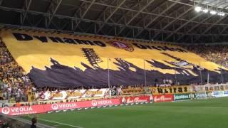 Choreografie Dynamo Dresden gegen Köln