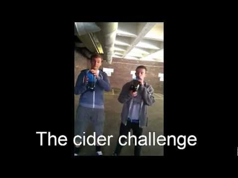 Not for the weak stomached: The cider challenge