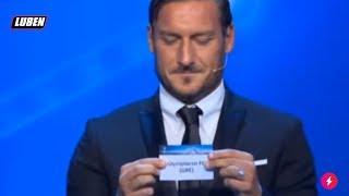 Δύσκολη κλήρωση για Juventus Barcelona :(  | Luben TV