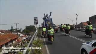 Konvoi Perayaan Juara Persib Bandung